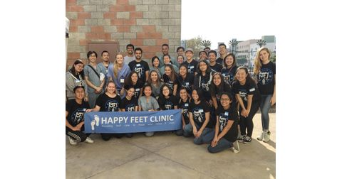 Happy Feet Clinic Logo