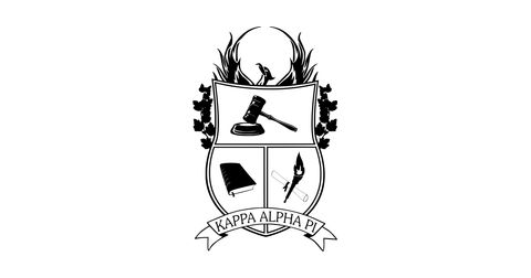 Kappa Alpha Pi Pre-Law Fraternity at UCLA Logo