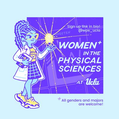 Women+ in the Physical Sciences Logo