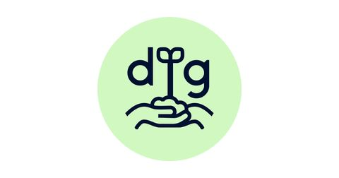 Dig: The Campus Garden Coalition at UCLA Logo