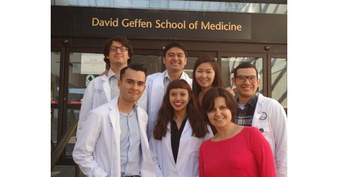 David Geffen School of Medicine at UCLA Chapter of the American Medical Association Logo