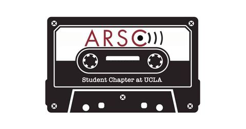 The Student Chapter of the Association for Recorded Sound Collections (ARSC) at UCLA Logo