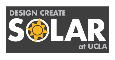 Design Create Solar at UCLA Logo