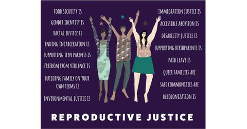 Reproductive Justice Health Center  Logo